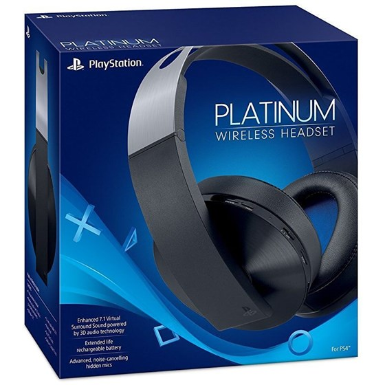 Sony Playstation Wireless Platinum Headset P/N: 9812753