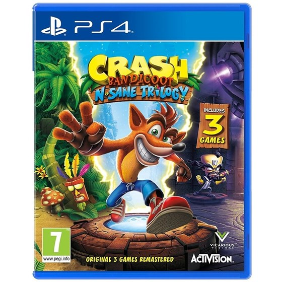 PS4 igra Crash Bandicoot N. Sane Trilogy 2.0  P/N: 88222EN