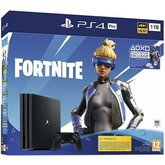 Sony Playstation 4 Pro 1TB G Chassis + Fortnite VCH P/N: 9941101