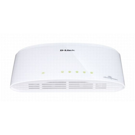 D-Link Switch 5-port 10/100/1000Mbps P/N: DGS-1005D/E