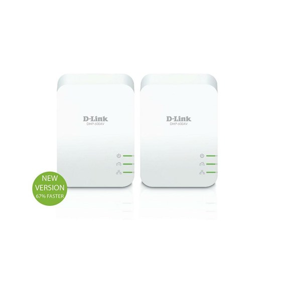 D-Link PowerLine AV2 1000 Gigabit Starter Kit P/N: DHP-601AV/E