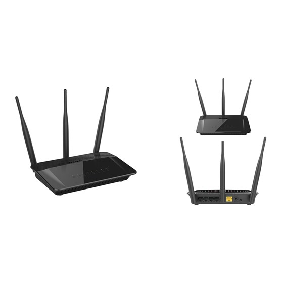 D-Link Wireless AC750 Dual Band Router P/N: DIR-809/E