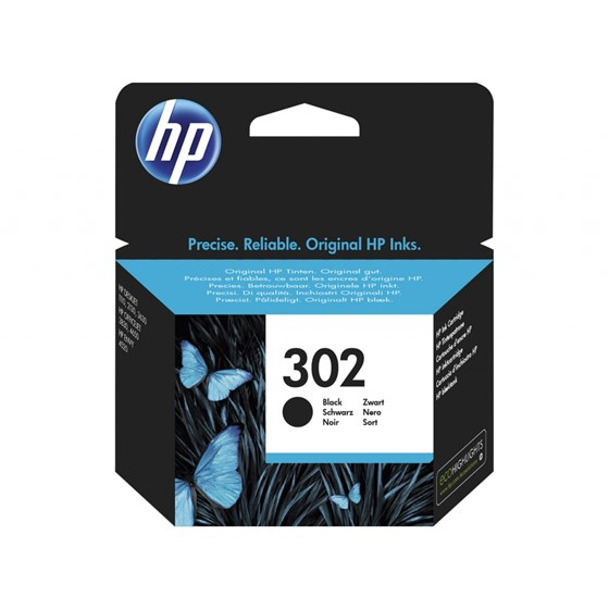 Tinta HP No.302 Black P/N: F6U66AE