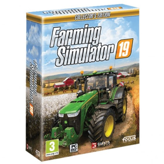 PC igra Farming Simulator 19 Collectors Edition P/N: FS19CEPC