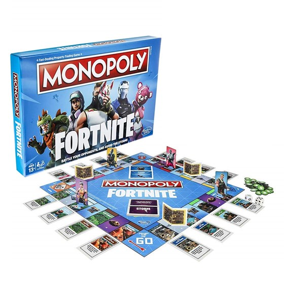 Monopoly FORTNITE Edition P/N: 5010993586974