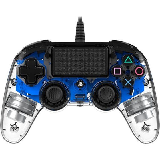 Gamepad BigBen Nacon PS4 Plavo-prozirni P/N: PS4OFCPADCLBLUE