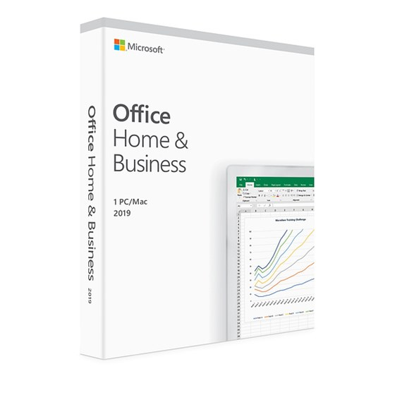 Software Microsoft Office 2019 Home & Business FPP Cro Medialess Word, Excel, PowerPoint, OneNote, Outlook P/N: T5D-03197
