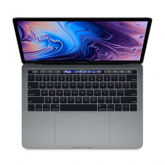 "Apple MacBook Pro 13 Retina Touch Bar Intel Core i5 2.40GHz 8GB 256GB SSD Mac OS 13.3"" Intel Iris Plus Graphics 655 Space Gray P/N: mv962cr/a"